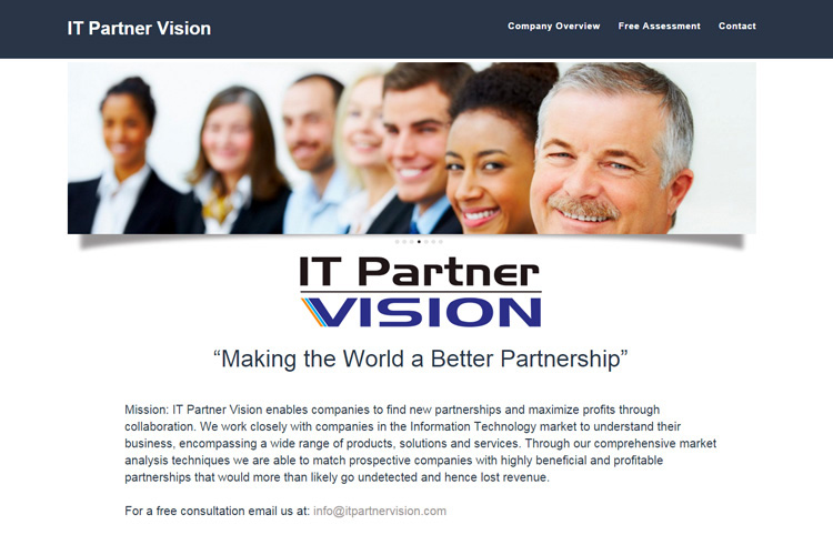 IT Partners Website